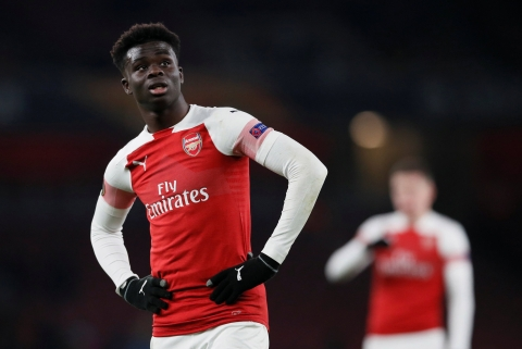 Bukayo  Saka - Football Talents